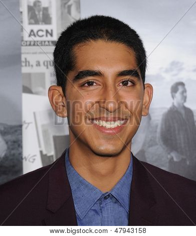 LOS ANGELES - JUL 10:  Dev Patel arrives to the 'HBO's