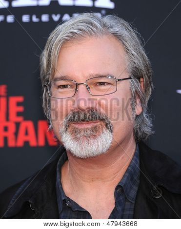 LOS ANGELES - JUN 22:  Gore Verbinski  arrives to the 'The Lone Ranger' Hollywood Premiere  on June 22, 2013 in Hollywood, CA