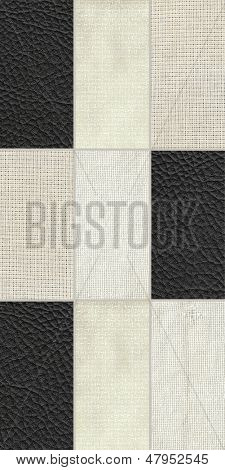 Geometric seamless pattern (fabric,leather)