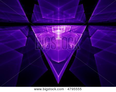 Ultra Violet Geometrical Perspective