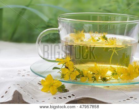St John's wort tea