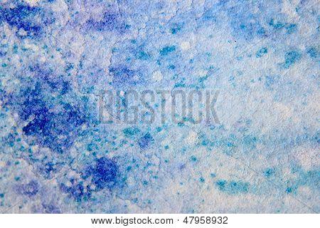 Blue Watercolour Textures 7