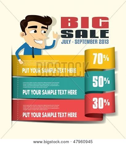 Sale Promotion Design Template