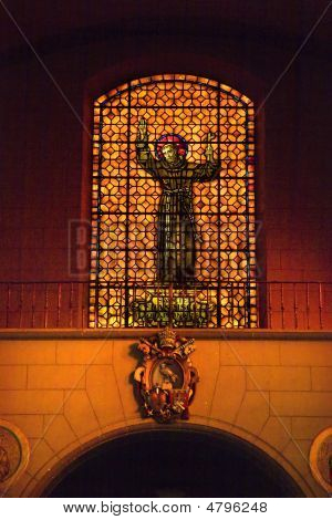 Saint Francis De Assis Stained Glass Mission Dolores San Francis