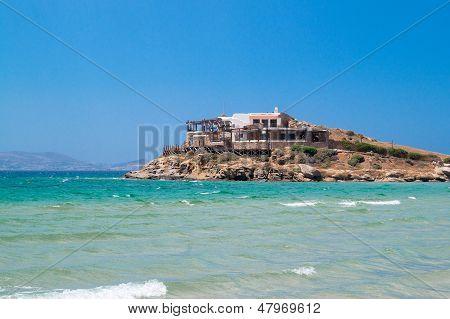 Traditional Greek House On Naxos Island, Greece