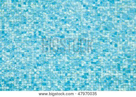 pool mosaic texture