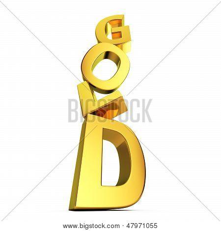 Ouro caindo