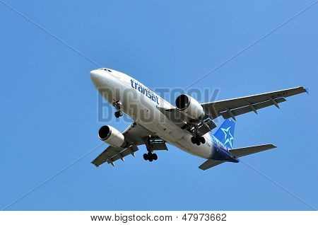 Air Transat Flight Taking Off