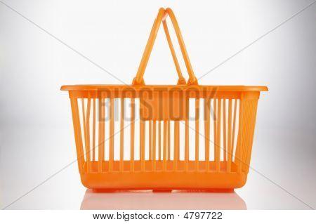 Orange Color Basket