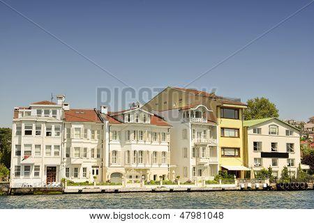 Waterside Residences In Bosphorus, Istanbul, Turkey