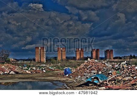 Urban Degradation - Hdr