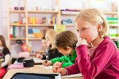 stock photo of pupils  - Education  - JPG