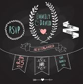 picture of laurel  - Wedding Invitation Template - JPG