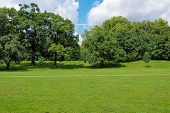foto of kensington  - The Kensington Gardens and Hide Park London UK - JPG