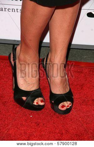 Jennifer Morrison's shoes  at the 8th Annual Padres Contra El Cancer's 'El Sueno De Esperanza' Benefit Gala. Hollywood and Highland Grand Ballroom, Hollywood, CA. 10-07-08