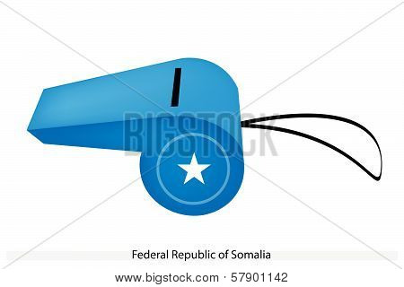 A Whistle Of Federal Republic Of Somalia