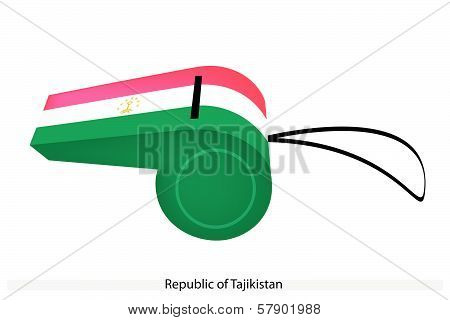 A Whistle Of The Republic Of Tajikistan