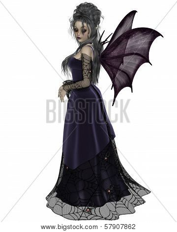 Gothic Fairy in Purple