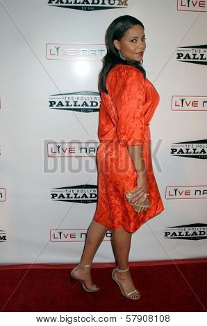 Sanaa Lathan  at the Grand Reopening of The Hollywood Palladium. Hollywood Palladium, Hollywood, CA. 10-15-08
