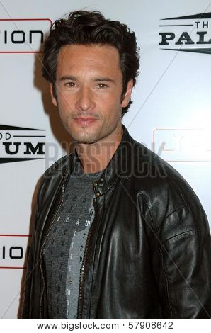 Rodrigo Santoro  at the Grand Reopening of The Hollywood Palladium. Hollywood Palladium, Hollywood, CA. 10-15-08