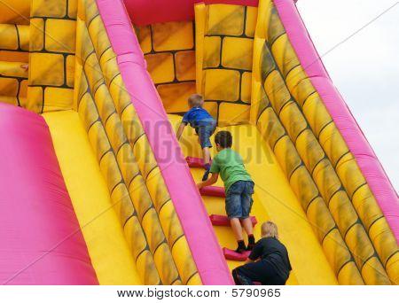 Children In Bumper Castle