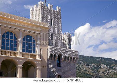 Princes Reinier's Palace in Monaco