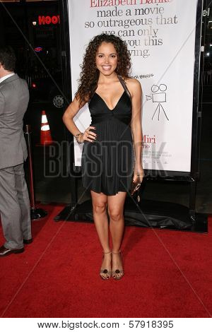 Susie Castillo  at the Los Angeles Premiere of 'Zack and Miri make a porno'. Grauman's Chinese Theater, Hollywood, CA. 10-20-08