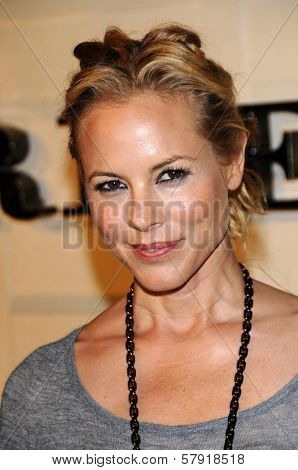 Maria Bello  at the Burberry Beverly Hills Store Re-Opening. Burberry Beverly Hills Store, Beverly Hills, CA. 10-20-08