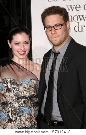 Seth Rogen  at the Los Angeles Premiere of 'Zack and Miri make a porno'. Grauman's Chinese Theater, Hollywood, CA. 10-20-08