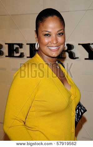Laila Ali  at the Burberry Beverly Hills Store Re-Opening. Burberry Beverly Hills Store, Beverly Hills, CA. 10-20-08