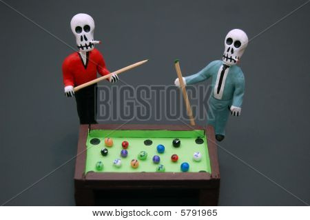 Billiard Players