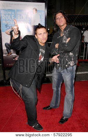 The Miz and Steve Morrison  at the World Premiere of 'Role Models'. Mann's Village Theatre, Westwood, CA. 10-22-08