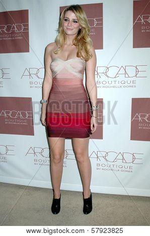 Mischa Barton  at the Grand Opening of Arcade Boutique. Arcade Boutique, Los Angeles, CA. 10-23-08
