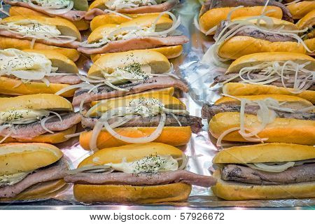 Seafood burgers for sale