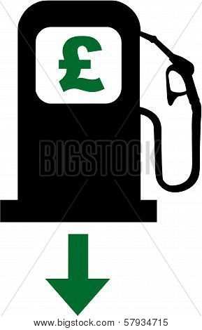 Petrol Prices Fall in the UK