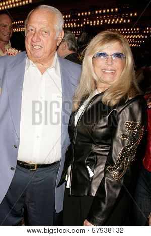 Tommy Lasorda and Nancy Sinatra  at the Annual 'Keeping the Promise To our Vietnam Heroes' Breakfast Honoring Veterans. Sheraton Gateway LAX, Los Angeles, CA. 11-07-08