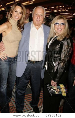 Patricia Kara with Tommy Lasorda and Nancy Sinatra  at the Annual 'Keeping the Promise To our Vietnam Heroes' Breakfast Honoring Veterans. Sheraton Gateway LAX, Los Angeles, CA. 11-07-08