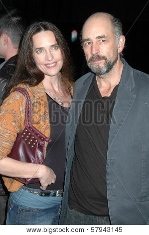 Sheila Kelley and Richard Schiff  at the Los Angeles Premiere of 'Milk'. Academy of Motion Pictures Arts And Sciences, Beverly Hills, CA. 11-13-08