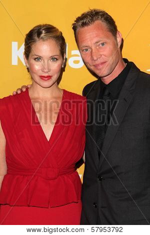 Martyn LeNoble, Christina Applegate at the Women In Film Crystal + Lucy Awards 2012, Beverly Hilton Hotel, Beverly Hills, CA 06-12-12