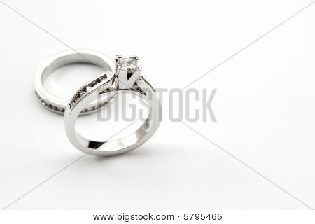 Diamond Ring wedding set