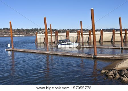 Boat Launch Pads And Steel Poles Or.