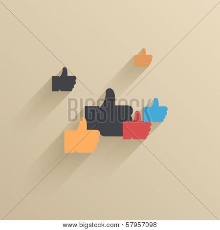 Vector creative modern icon. Design element. Eps 10