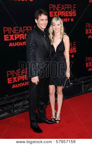 James Franco and Ahna O'Reilly  at the Los Angeles Premiere of