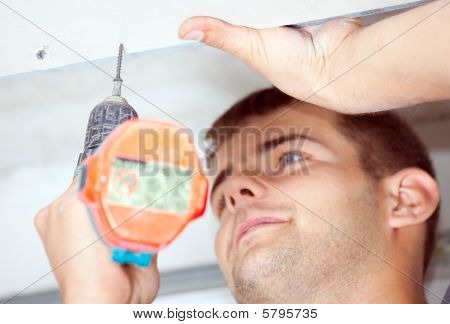 Man With Screwdriver