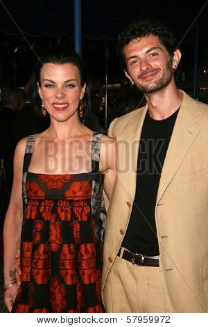 Debi Mazar and husband Gabriele  at the Los Angeles Premiere of