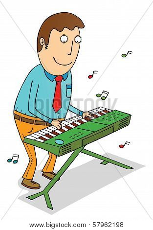 Playing Organ