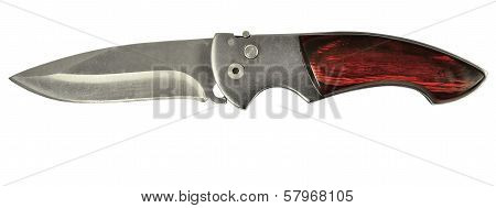 Knife Isolated On White
