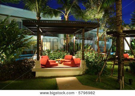 Pavilion In  Night Garden