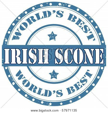 Irish Scone-stamp