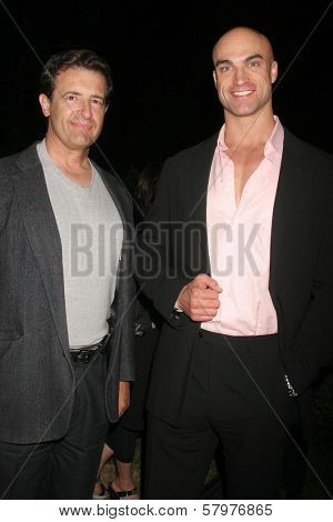 William Pappas and Paul Duke  at the 'Ten Nights Of Dreams' Afterparty Hosted By Cinema Epoch. Kyoto Grand Hotel and Gardens, Los Angeles, CA. 08-22-08